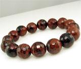 Ce semnifica culoarea bijuteriilor:Bratara elastica cu Obsidian Mahon