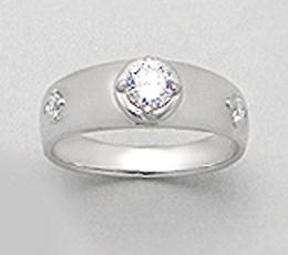 Inel verigheta din argint 925 pentru indragostiti