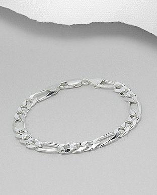 Bratara din argint pentru barbati