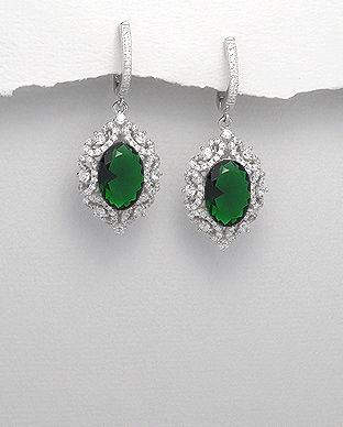 bijuterii cu pietre verzi