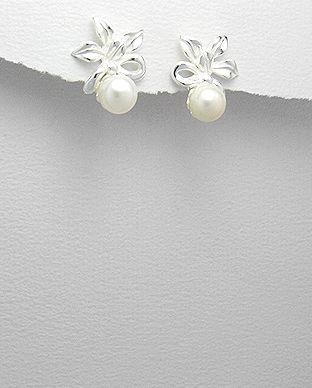 cercei cu perla
