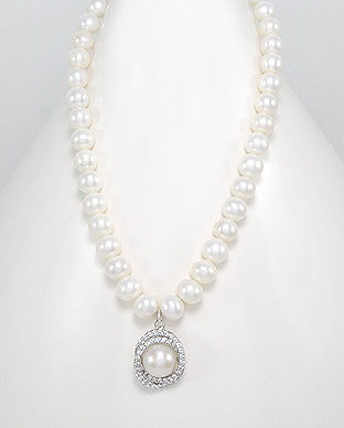bijuterie cu perle albe