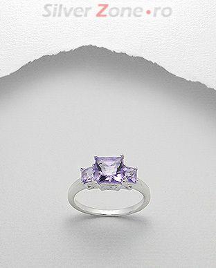bijuterii cu piatra mov
