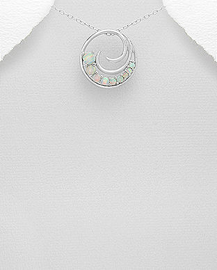 bijuterii argint opal alb