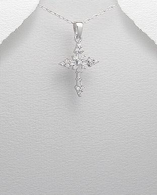 Cruciulita din argint in stil celtic 17-1-i45174