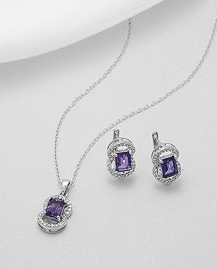 bijuterii cu ametist