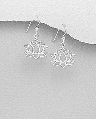 bijuterii argint lotus