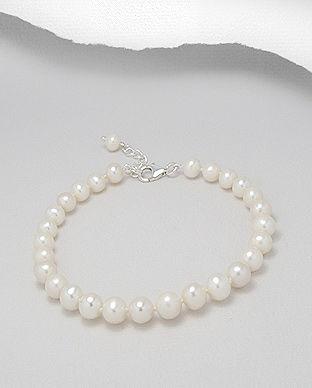 bijutreii cu perle albe