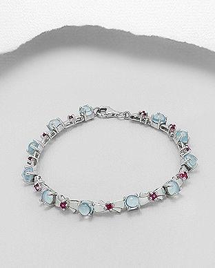 bratara cu pietre semipretioase: bijuterii deosebite