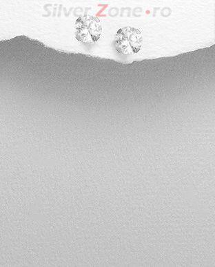 cercei tip diamant