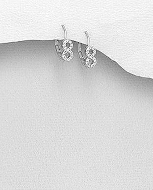 diamant cercei mici