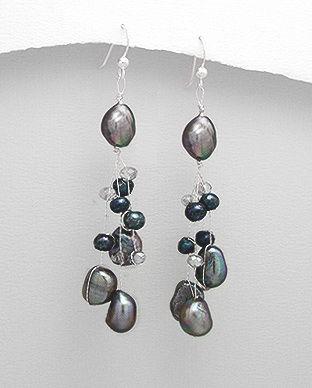 perle negre bijuterii