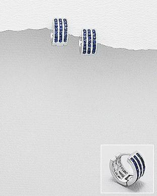 bijuterii safir albastr