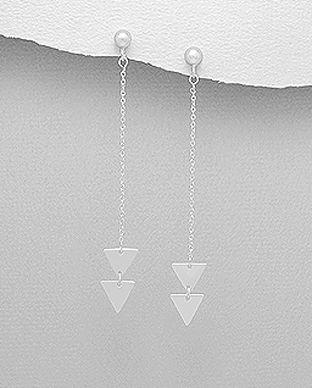 cercei bijuterii din argint in tendinte