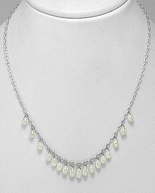 lantisor cu perle naturale