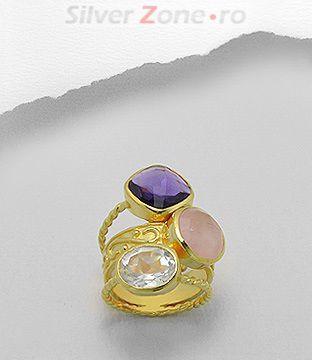 bijuterii cu cuart natural