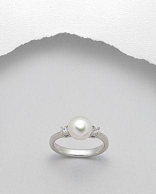 inel cu perla