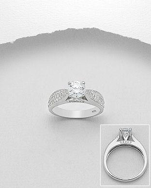 inel din argint logodna