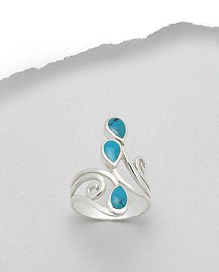 inel bijuterii din argint in tendinte