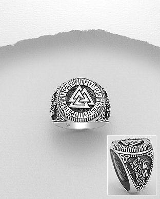 inel din argint masiv
