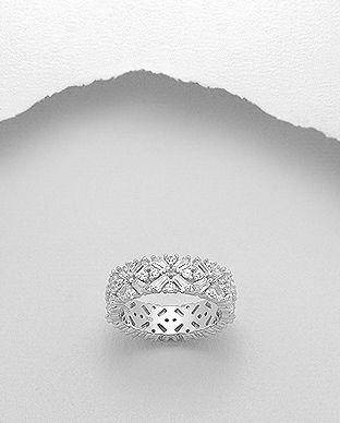 bijuterii din argint cu zirconiu