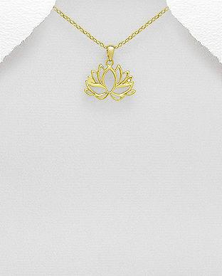 bijuterii lotus floare