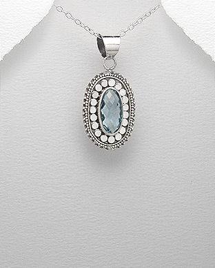 bijuterii topaz argint