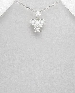 bijuterii argint animale