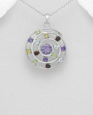 bijuterii argint cu pietre semipretioase